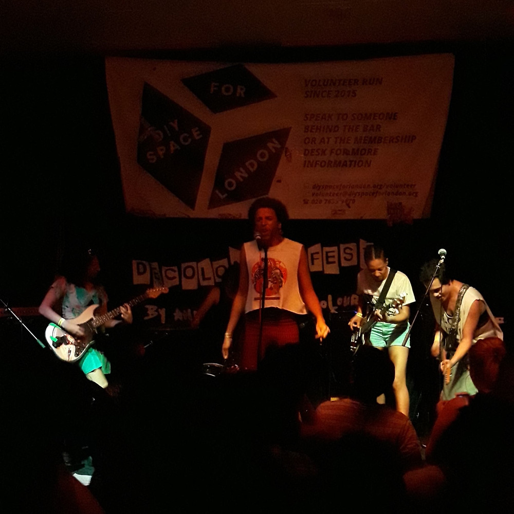 Screaming Toenail performing at Decolonise Fest 2019