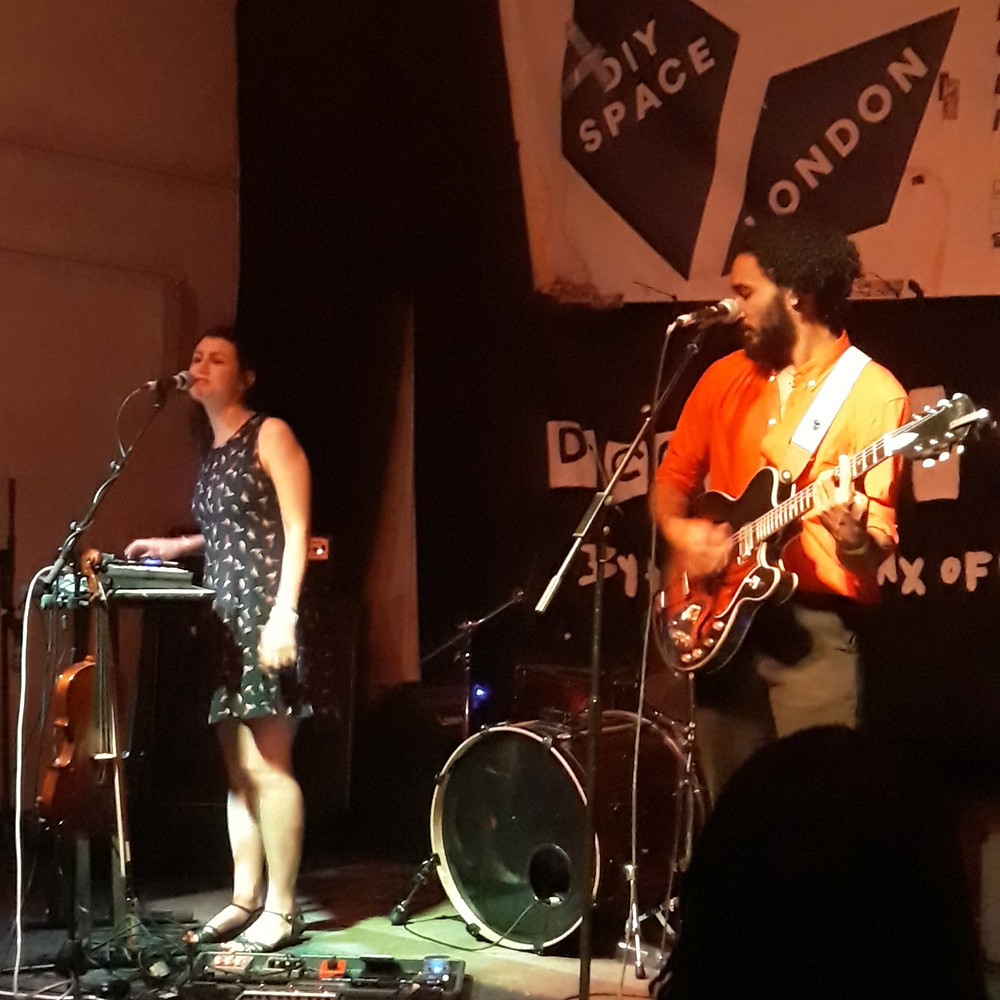 Th'Sheridans performing at Decolonise Fest 2019