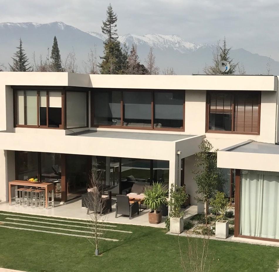Casa y terraza