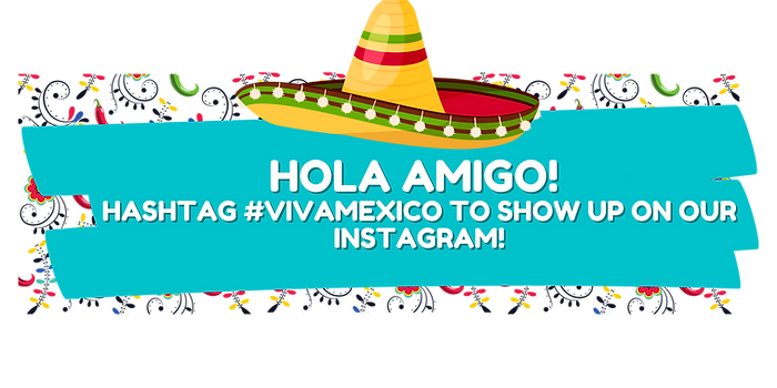 hola amig@! hashtag #vivamexico to show