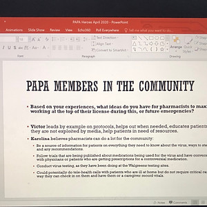 PAPA Spring COVID-19 Meeting