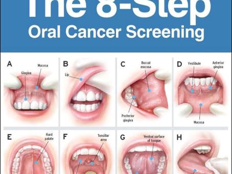At Home Oral Cancer Screening Exams