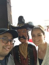 Dr. Rob and Kasia in Las Vegas