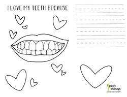 i love my teeth