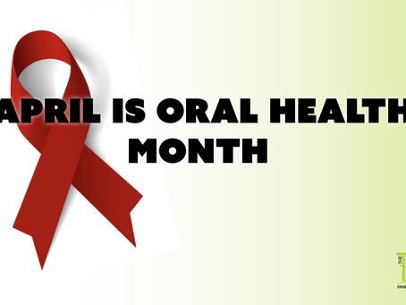 It's Oral Health Month