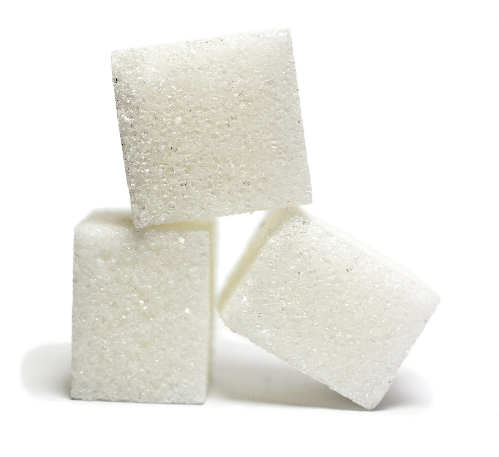 sugar cubes, dentist, cavities