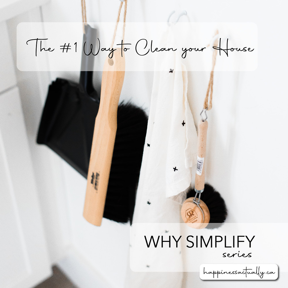 why simplify series minimalist cleaning tools