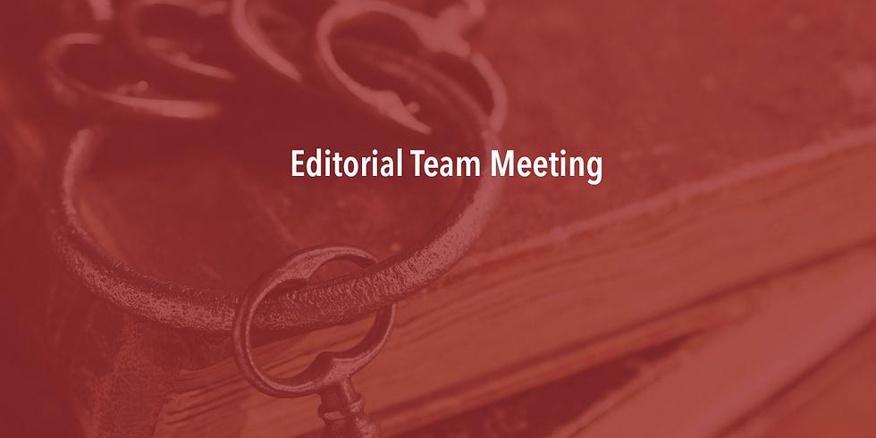 Journal Editors Meeting