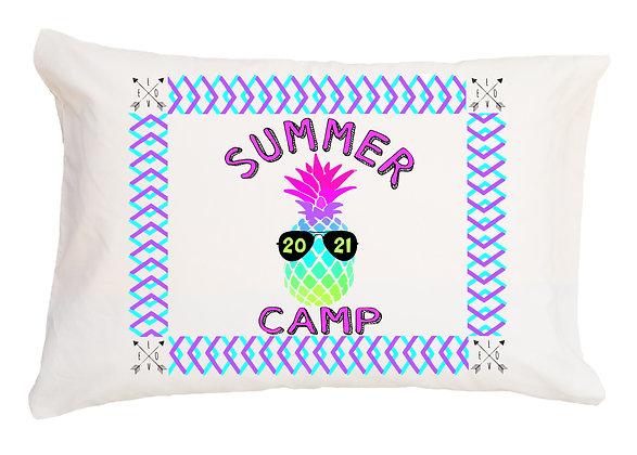 Pineapple Camp Standard Pillowcase