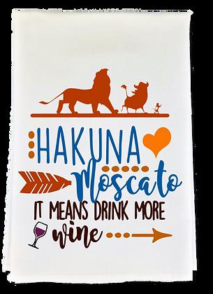 Hakuna Moscato Tea Towel