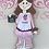 Thumbnail: Pink Cupcake Tutu Customized Apron