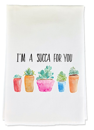 Succa For You Tea Towel