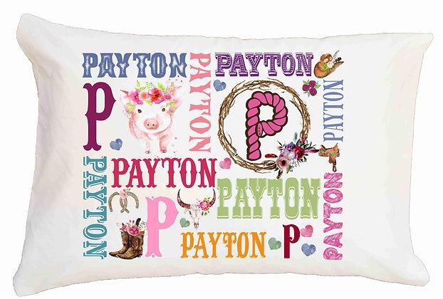 Pigs My Name Standard Pillowcase
