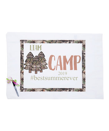 Camo Camp Standard Pillowcase