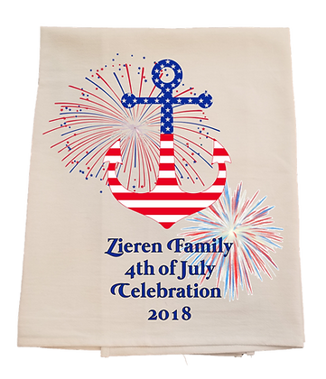 July 4th Custom Towel