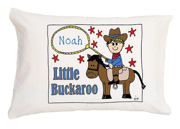 Little Buckaroo Toddler Pillow