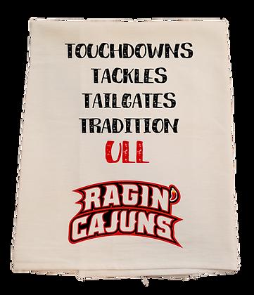 UL Touchdowns Tea Towel