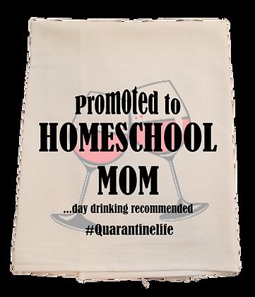 Homeschool Mom Tea Towel