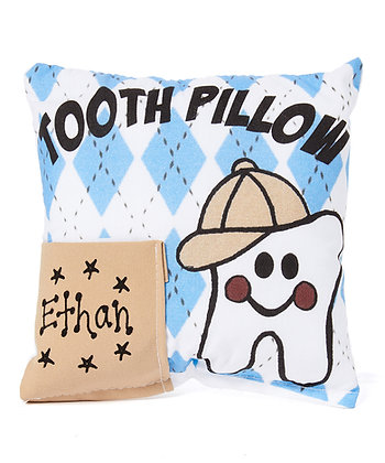 Boy's Argyle Tooth Pillow