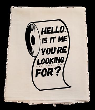 Toilet Paper Tea Towel