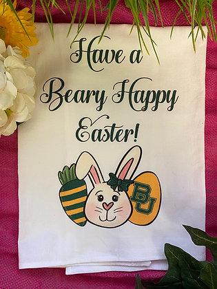 Baylor Easter Tea Towel