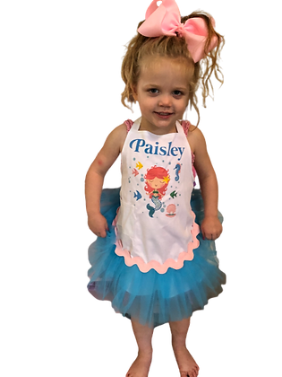 Mermaid Tutu Customized Apron