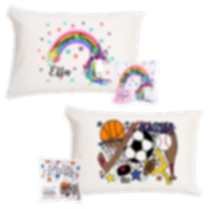 Standard Pillowcase and Tooth Fairy Pillow Set