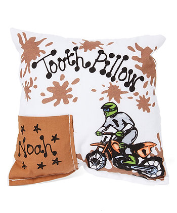 Motocross Tooth Pillow