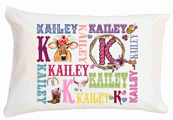 Heifer My Name Standard Pillowcase
