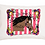 Thumbnail: Ride into your Dreams Stripes w/Custom Name Standard Pillowcase