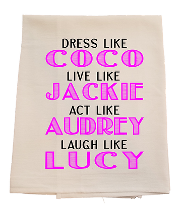 Coco Tea Towel