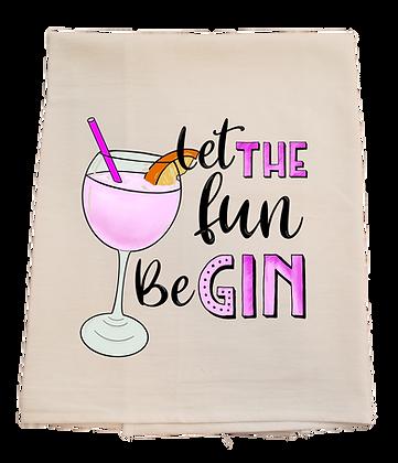 Be Gin Tea Towel
