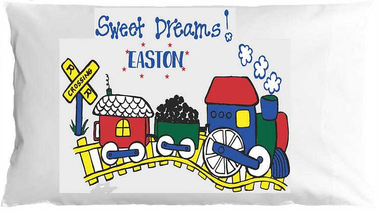 Sweet Dreams w/Custom Name Toddler Pillow