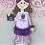 Thumbnail: Purple Cupcake Tutu Customized Apron