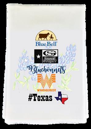 Texas Things Tea Towel