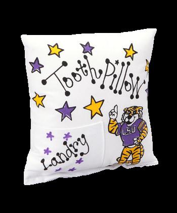 LSU Tooth Pillow