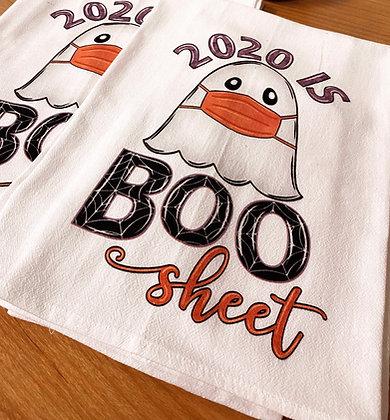 Boo Sheet Tea Towel