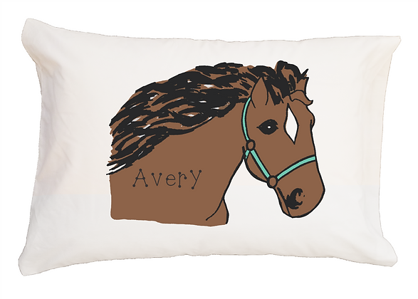 Horse Bridle Travel Pillow