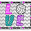 Thumbnail: Love Sports Travel Pillow