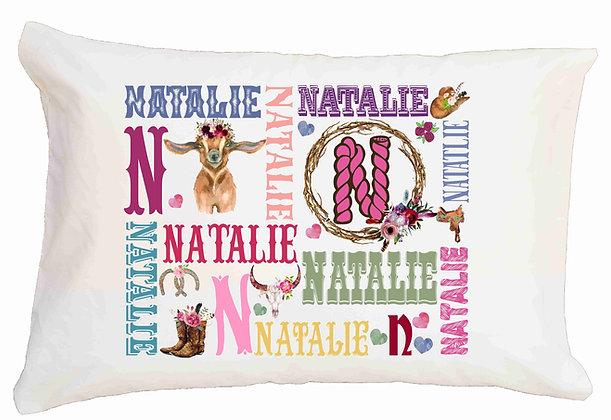 Goat My Name Standard Pillowcase