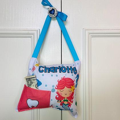 Hanging Mermaid Tooth Pillow