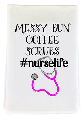 Nurse Life Tea Towel