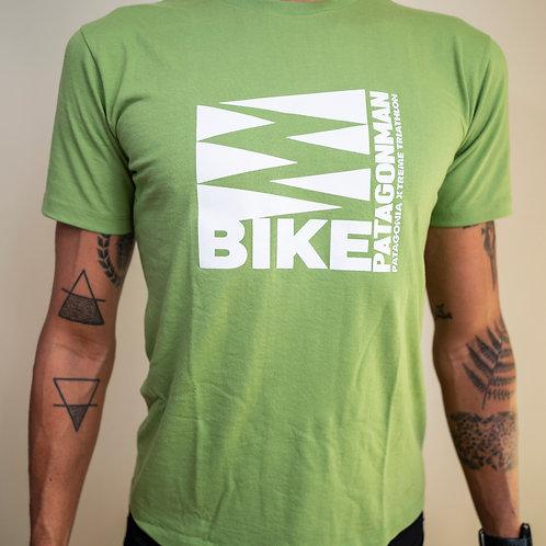 Polera Verde Bike Patagonman 2019