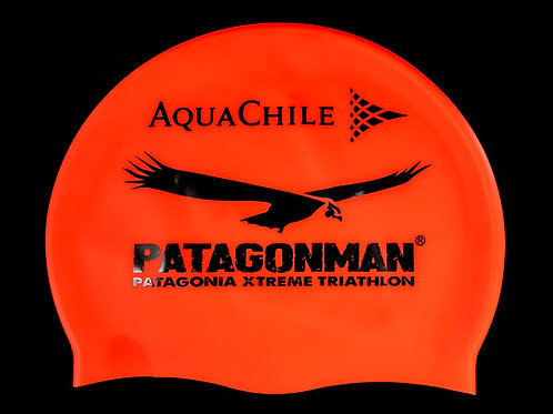 Patagonman Red Swimming Cap