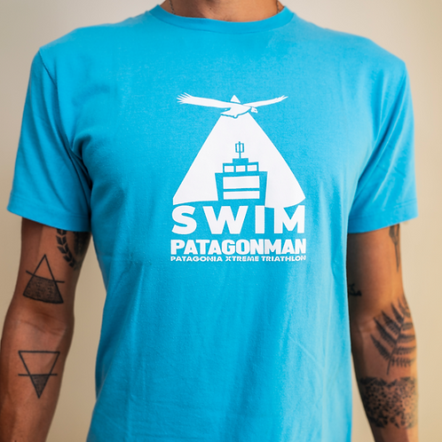 Light Blue Swim Patagonman T-shirt