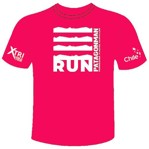 Pink Run Patagonman T-shirt