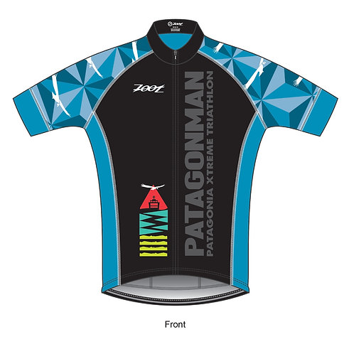 Zoot Custom Patagonman 2019 Short Sleeve Cycling Jersey