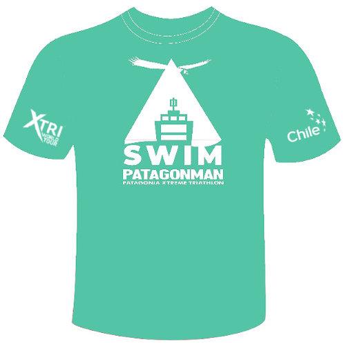 Light blue Swim Patagonman 2019 T-shirt