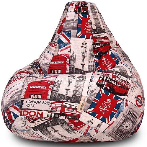 Кресло-Мешок «Лондон Бус»