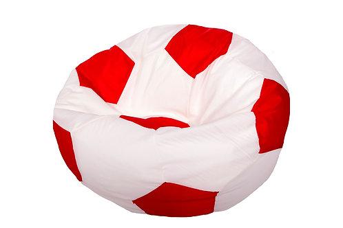 Кресло мяч Студент «Бело-Красный»